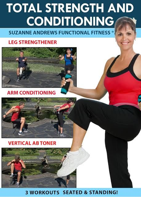 DVD REVIEW! Suzanne Andrews is an Occupational Therapy Clinician by trade and she has designed medically proven exercises with the best pacing for...