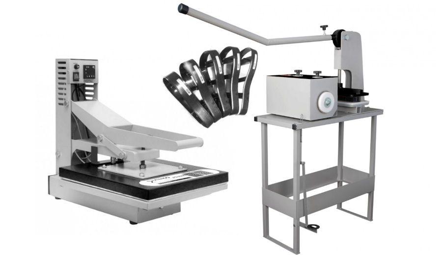 d5f48a0a8 Máquina de fazer chinelo completa + Máquina de estampar + kit 6 ...