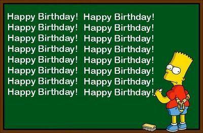 happy birthday simpsons Happy birthday the Simpsons   Birthday basics   Happy birthday  happy birthday simpsons