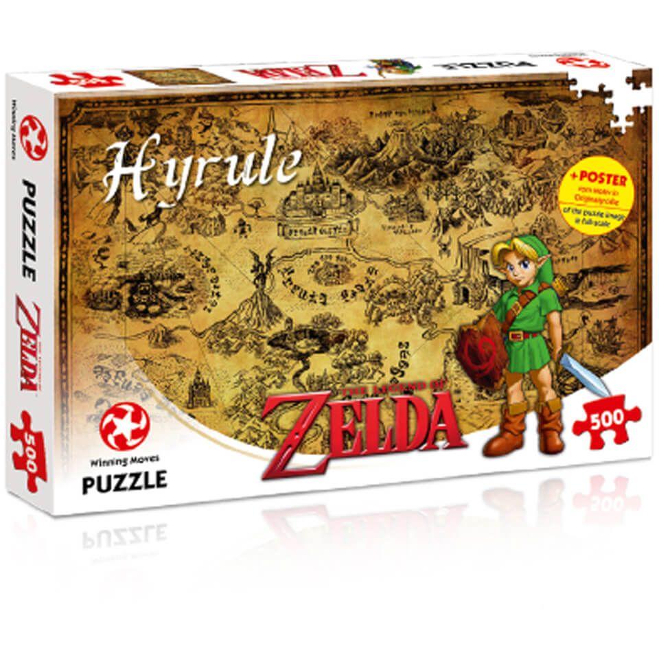 500 Piece Jigsaw Puzzle Zelda Hyrule Field Edition