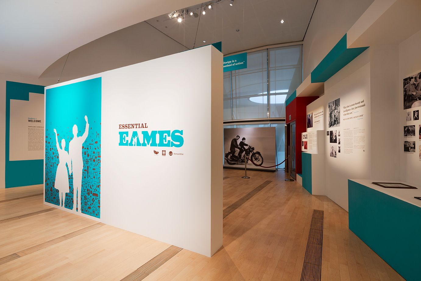 Eames Exhibition Design I Was The Project Manager Yeah Its Mine