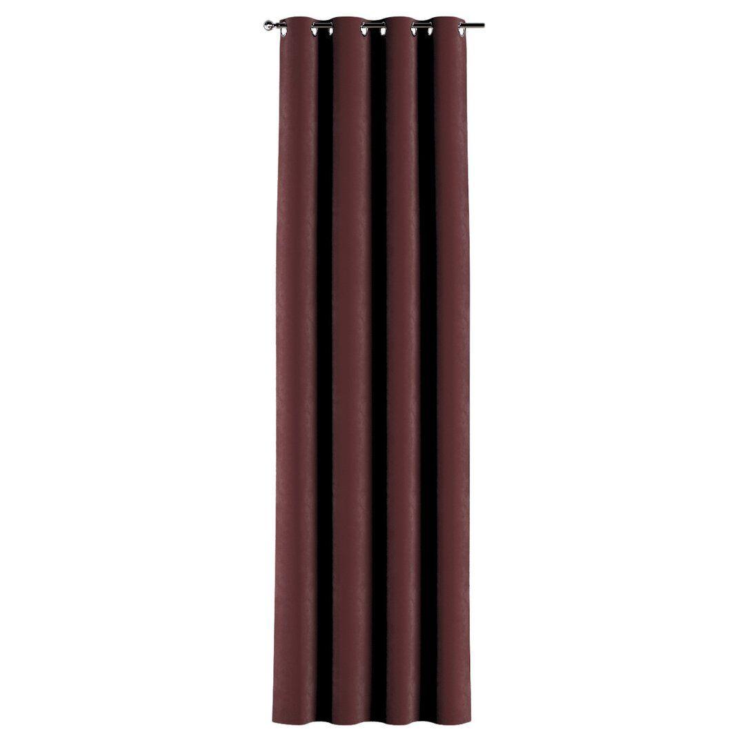 Vorhang Nawal mit Ösen (1 Stück), verdunkelnd