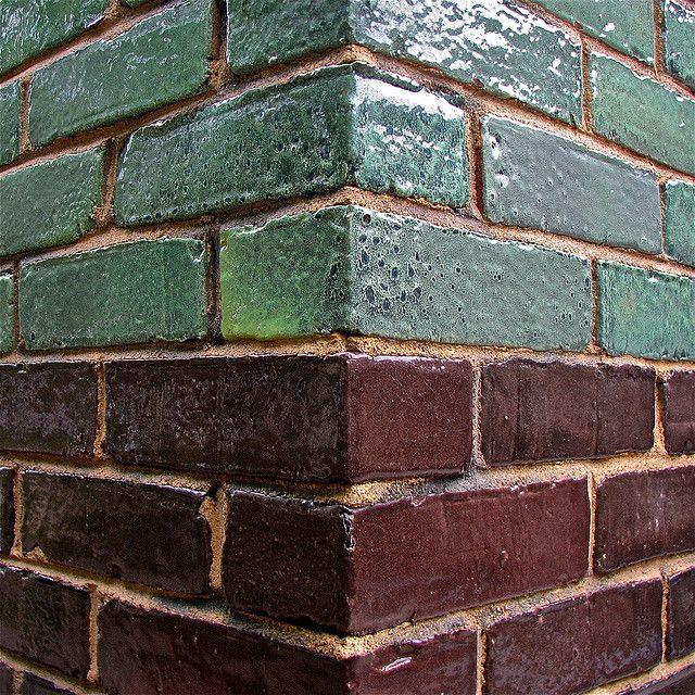 2 Color Glazed Brick Brick Interior Glazed Brick