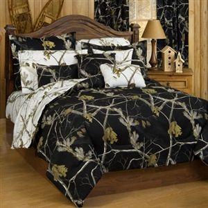 Realtree Ap Black Camouflage Comforter Set Camo Comforter Sets