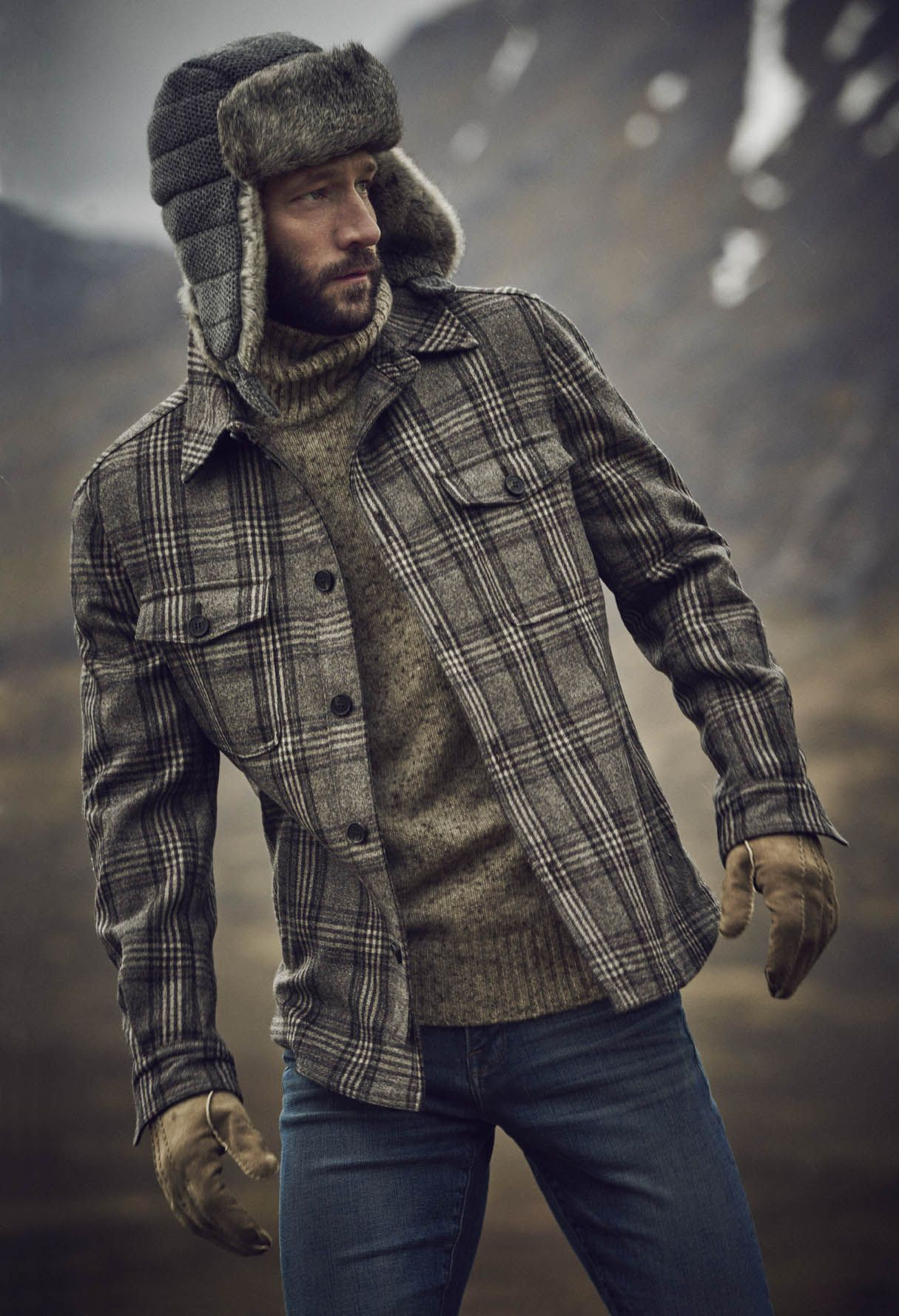 Highlander Style John Halls Models Fashions for The Great Outdoors
