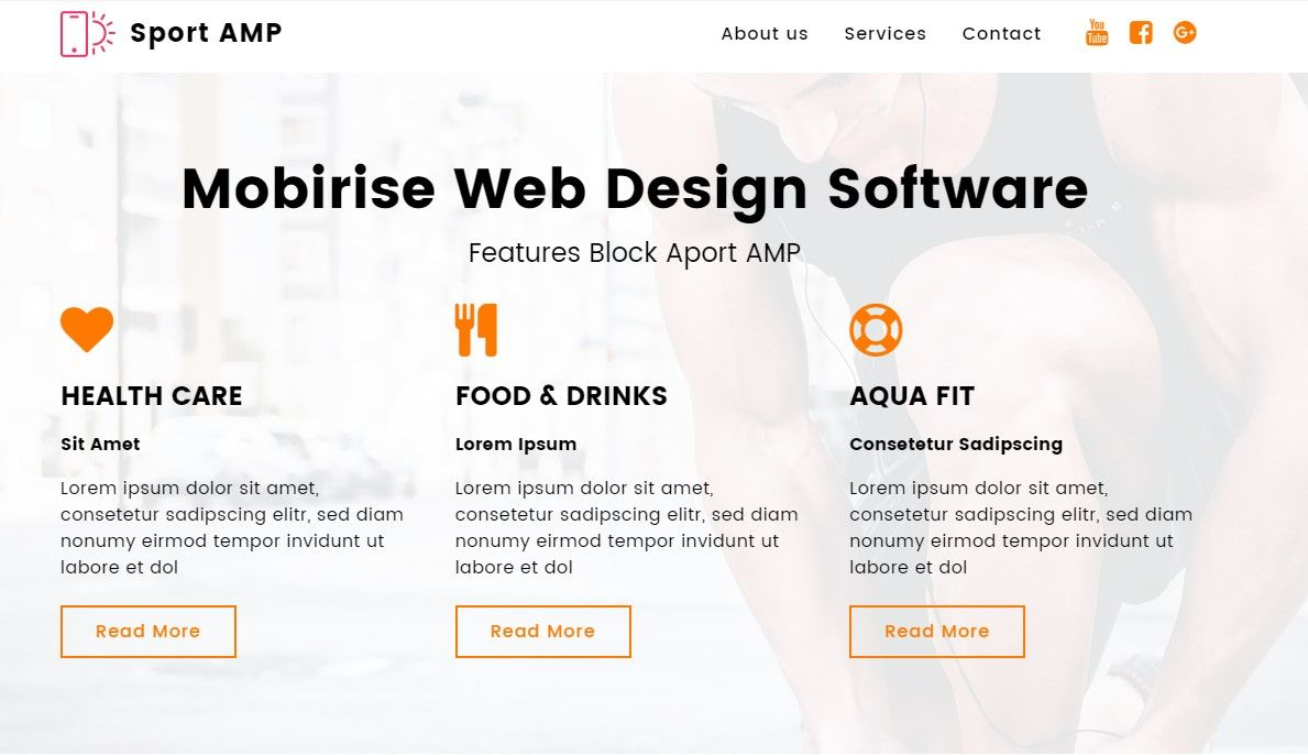 With Features Block Of Sport Amp You Can Set From One To Four
