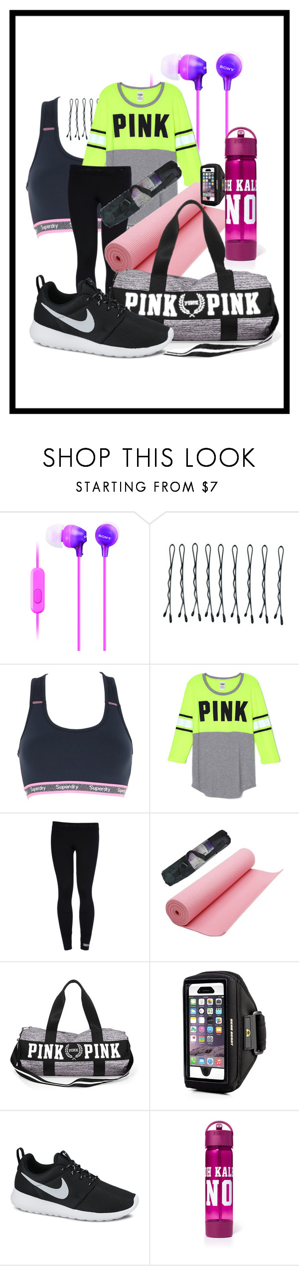 """""""Day-21"""" by kryslyn007 ❤ liked on Polyvore featuring Sony, BOBBY, Superdry, adidas and NIKE"""