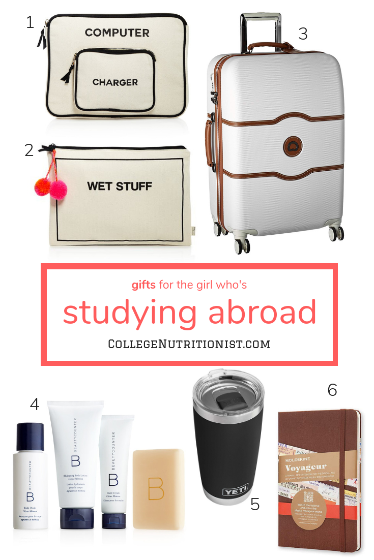 Gifts For The Girl Who S Studying Abroad Study Abroad Gifts Student Gifts College Girl Gifts