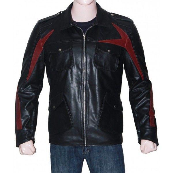James Heller Prototype 2 Black Leather Jacket Leather Jacket Celebrities Leather Jacket Leather Jacket Men