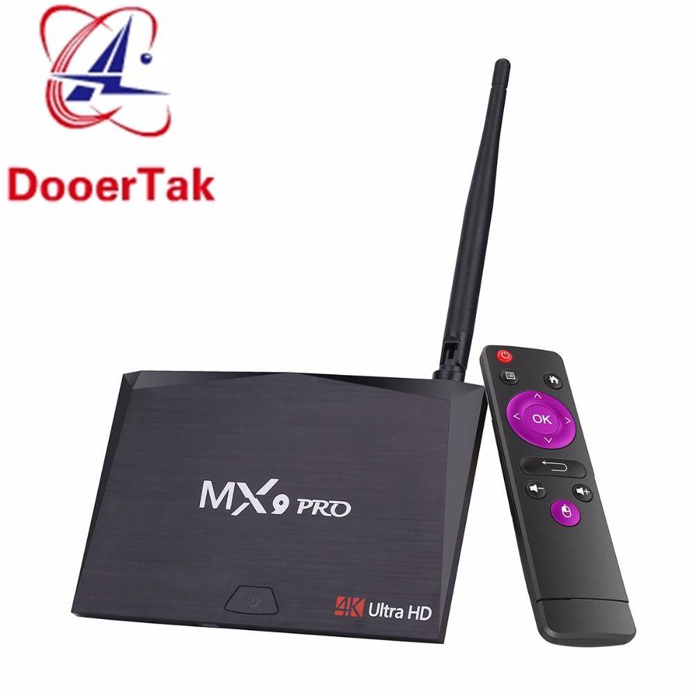MX9 Pro Android 7.1 Smart TV Box RK3328 QuadCore 64Bit 2G