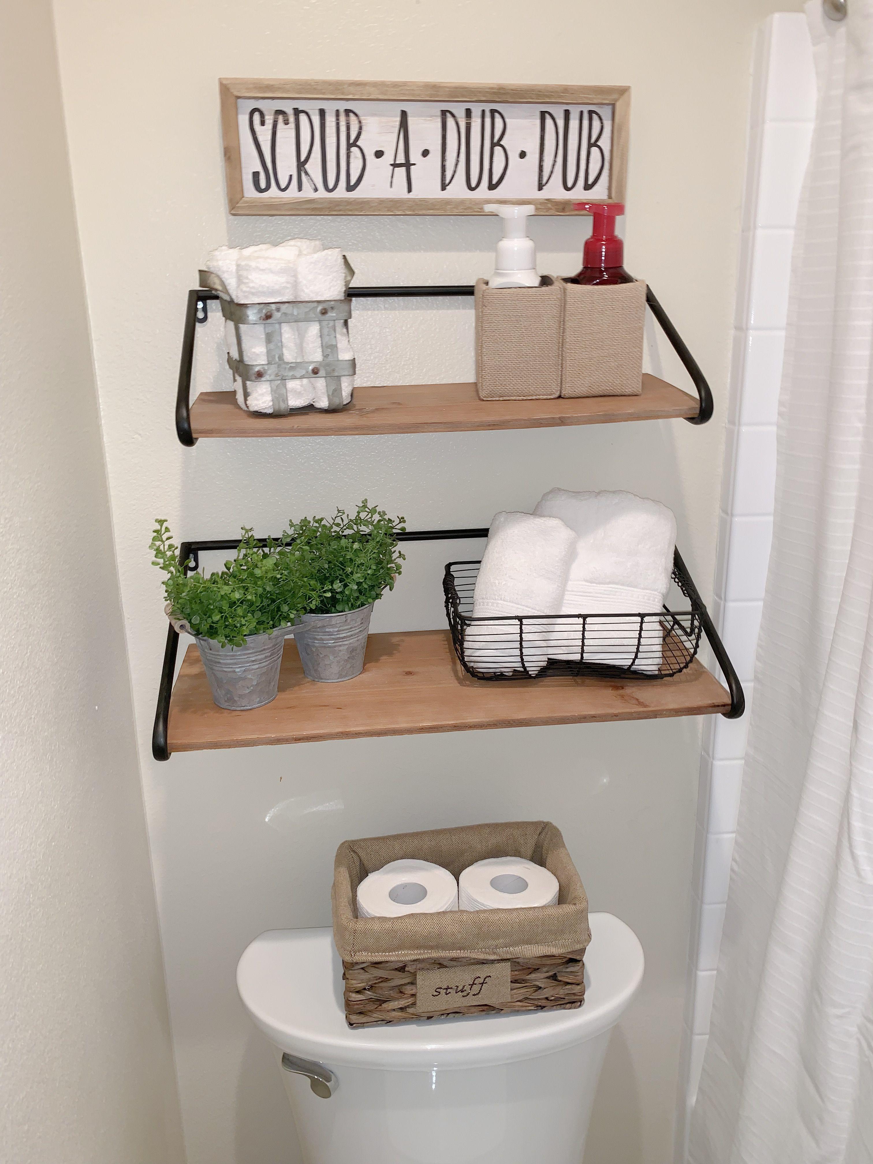 Rustic Farmhouse Decor Restroom Decor Hobby Lobby Finds Farmhouse Charm Restroom Decor Bathroom Decor Bathroom Decor Pictures