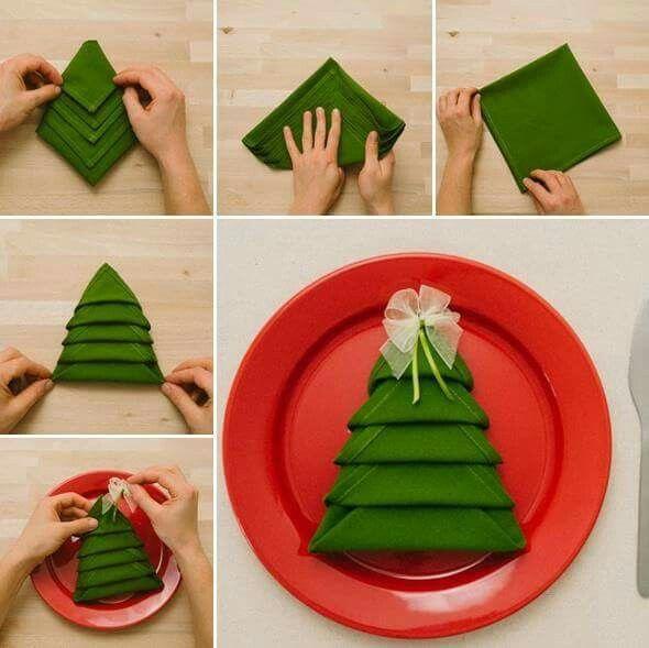 Weihnachtsserviette