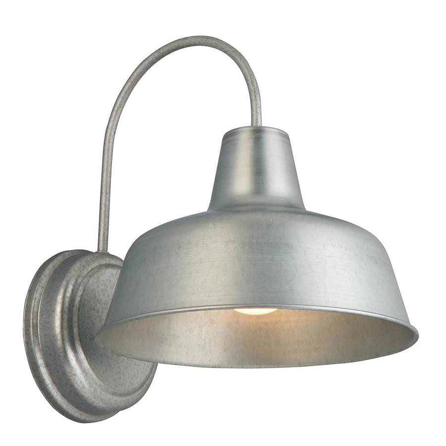 Light Galvanized Wall Sconce