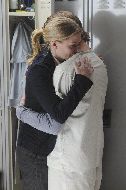Still of Jennifer Morrison and Jesse Spencer in House