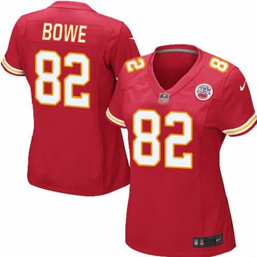 dwayne bowe jersey kansas city chiefs 82 womens red elite jersey nike nfl jersey sale