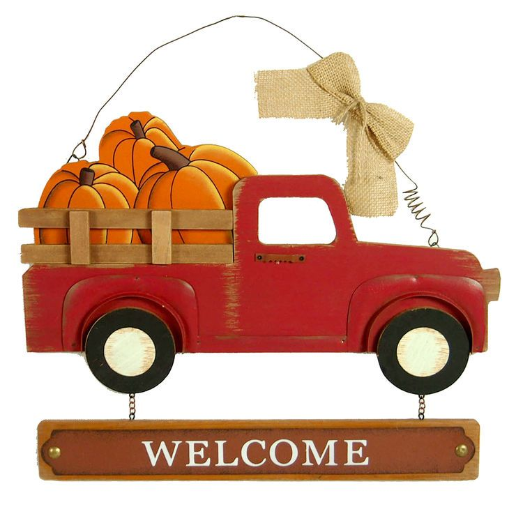 The Wood Truck Welcome Sign 15 75 In Is The Perfect Fit For Your Home Decor Needs Visit Your Local At Home Store T Fall Wall Decor Welcome Sign At Home Store