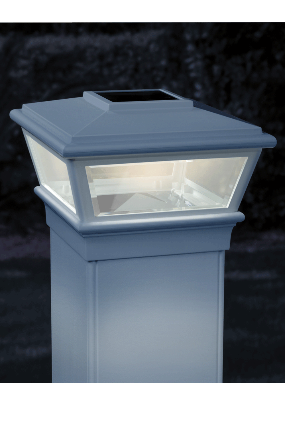 Light Up Your Outdoor Oasis With Solar Post Caps Solar Post