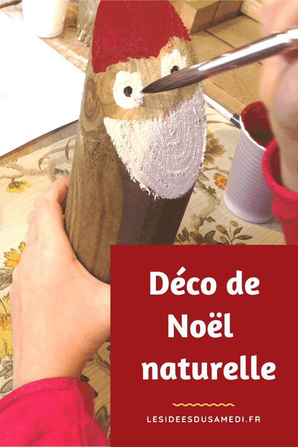 #noel  #bois  #bricolagenoel #fabriquer #décorations  Comment fabriquer des décorations de Noël naturelles sans plastique? décorations de Noël en bois pour Noël responsable #deconoelmaternelle
