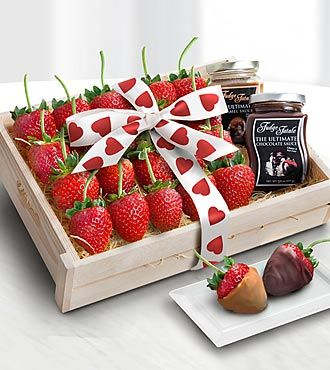 strawberry decadence gourmet gift - best. #usaaflowers, Ideas