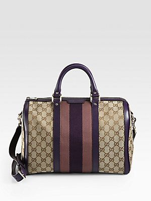 502b7a23b05e Love how they have the iconic Gucci Boston Bag with purple now ...