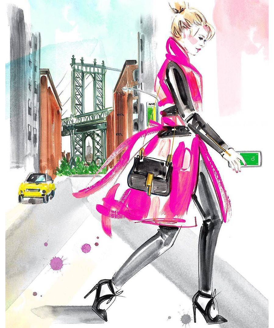 Illustrations: See fashion sketches from Instagram's talented fashion illustrators.