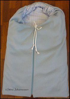 Nesebakken: Hvordan sy vokis/vognpose