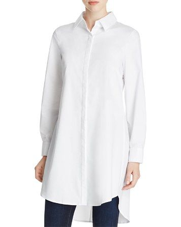 5395223a0fc198 Cupio Zip Back High/Low Tunic Shirt - Bloomingdale's | clothes ...