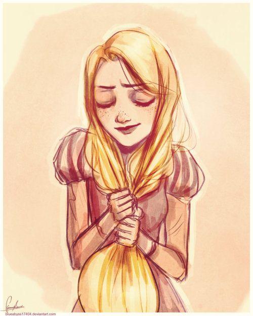 Rapunzel, gotta love tangled <3