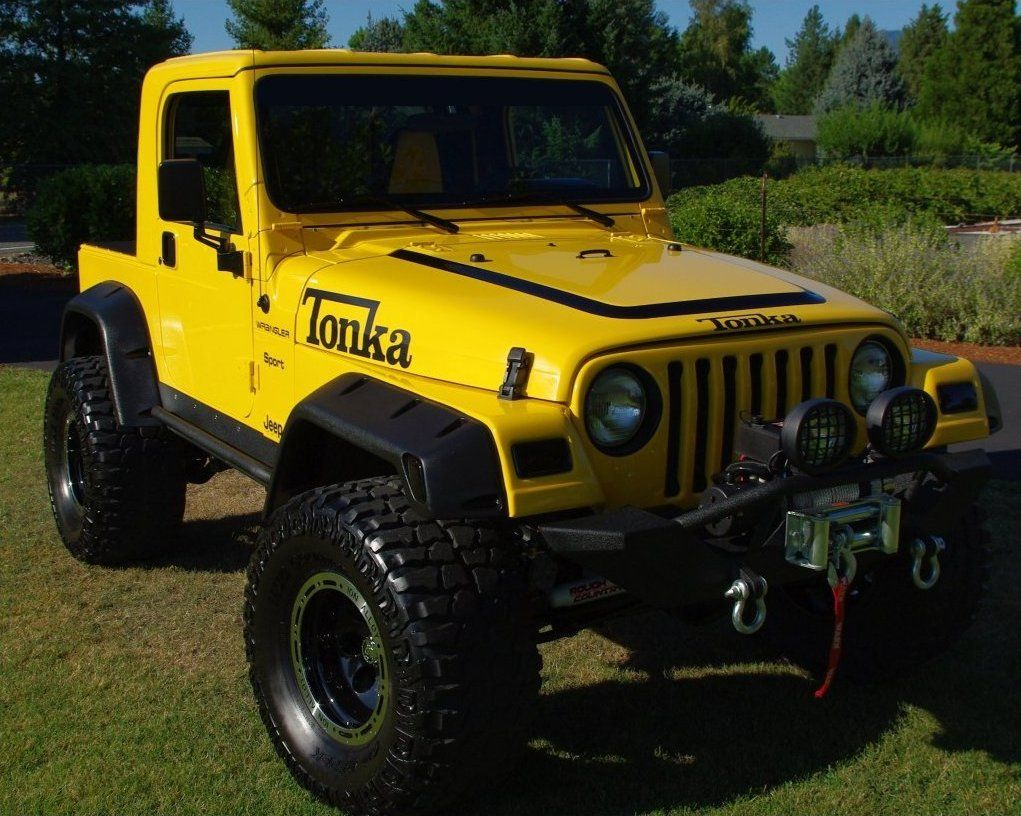 Tonka A Grown Man S Toy Yellow Jeep Jeep Jamboree Tonka Truck