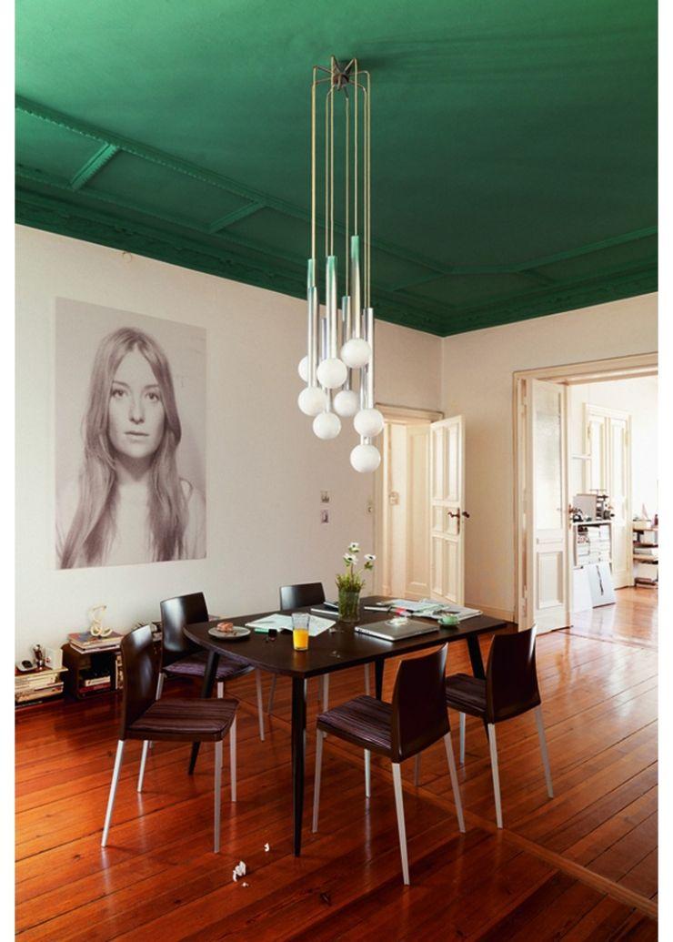 8x werken met een gekleurd plafond