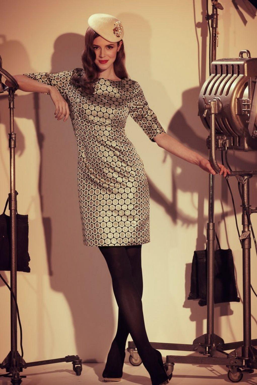 Fever s barbarella black and gold metallic dress wardrobe
