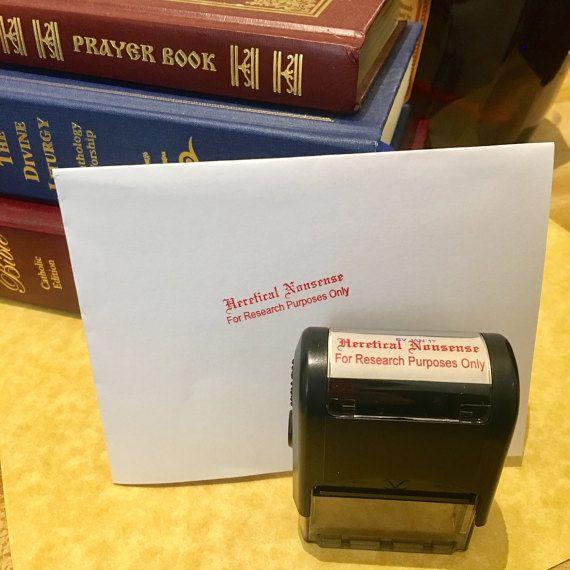 Heretical Nonsense Stamp