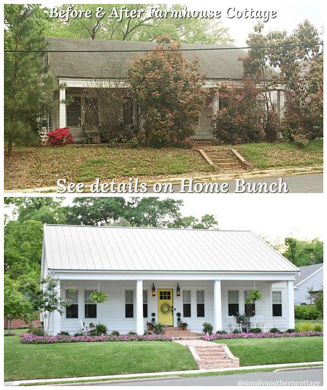 Atlanta Bungalow Renovation: Before And After Home Renovation Most Impressive Before
