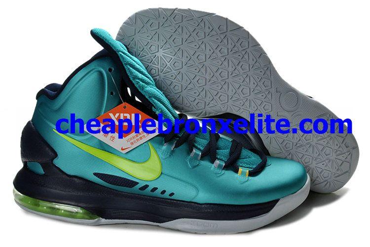 new concept 53cfd 189c9 Nike Zoom KD V Cheap Hulk Atomic Teal Volt Dark Atomic Teal Fiberglass  Gamma Ray 554988 ...
