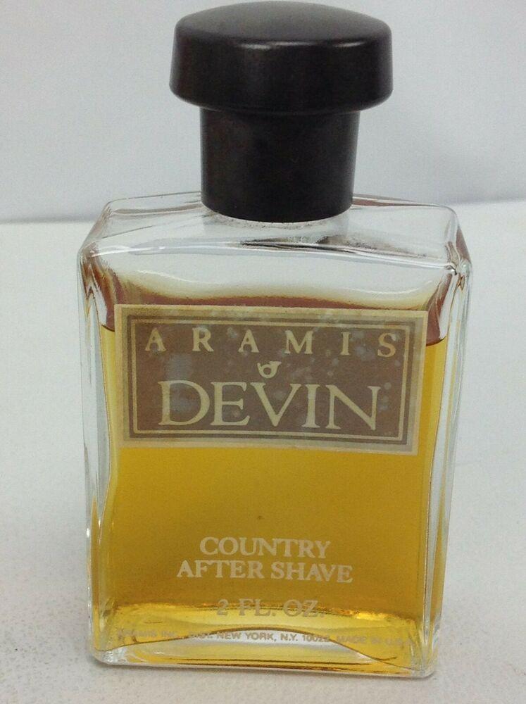Aramis Devin 2 Oz Country After Shave Mens Cologne Vintage Rare