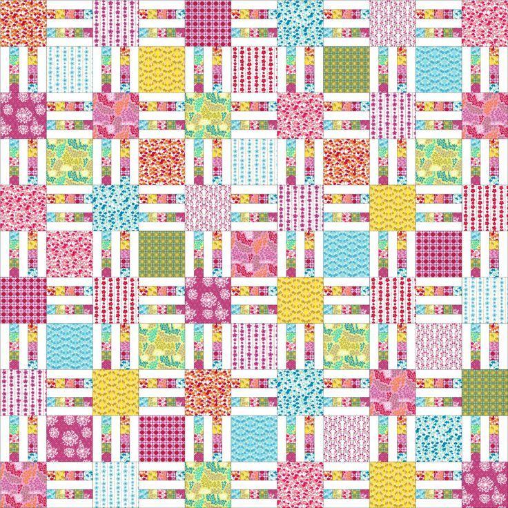 Image Result For Picket Fence Quilt Pattern Patchwork Pinterest