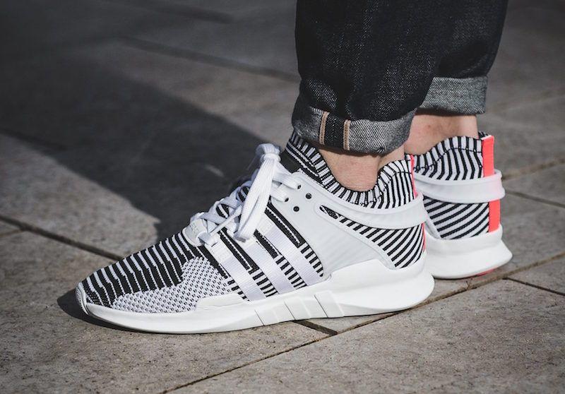 eqt support adv zebra