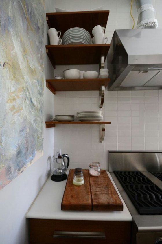 She lives in garage….and her space looks better than some apts. small space, garage conversion