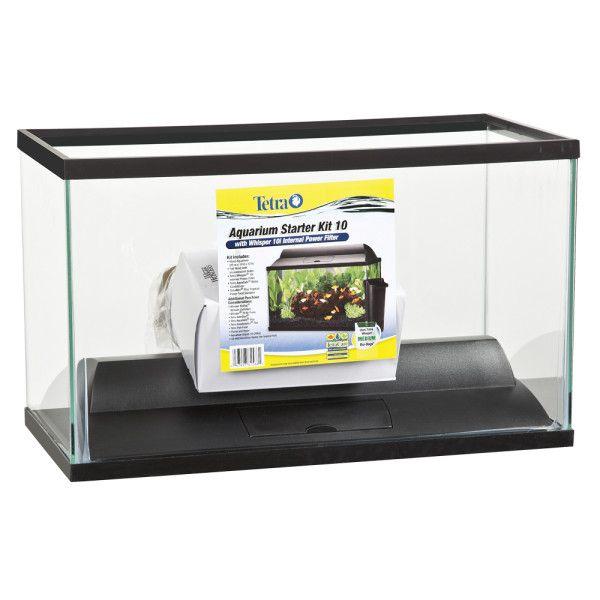 Tetra 10 Gallon Aquarium Starter Kit Aquariums Petsmart 10 Gallon Fish Tank Hexagon Fish Tank Fish Tank
