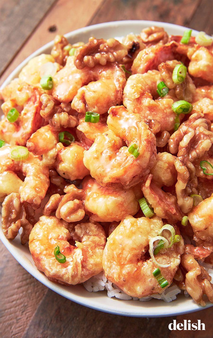 Honey Walnut Shrimp #chinesefood
