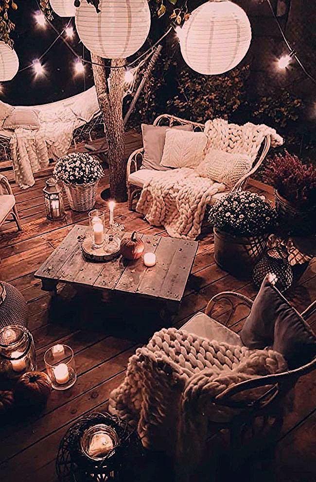 Photo of Gartenlounges im Hygge Stil deko dekoration Dekorationideen gartenlou Diydekorationhomesclub