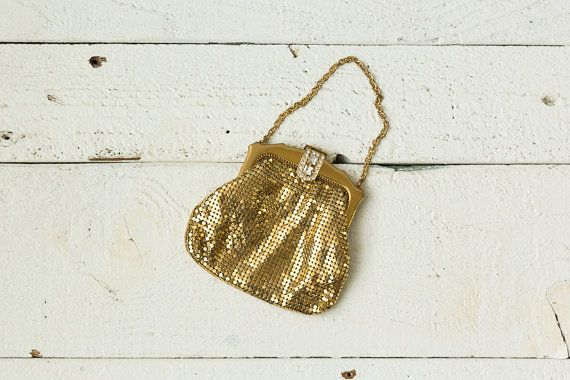Powder Room clutch | Vintage 1930s whiting and davis mesh clutch ...