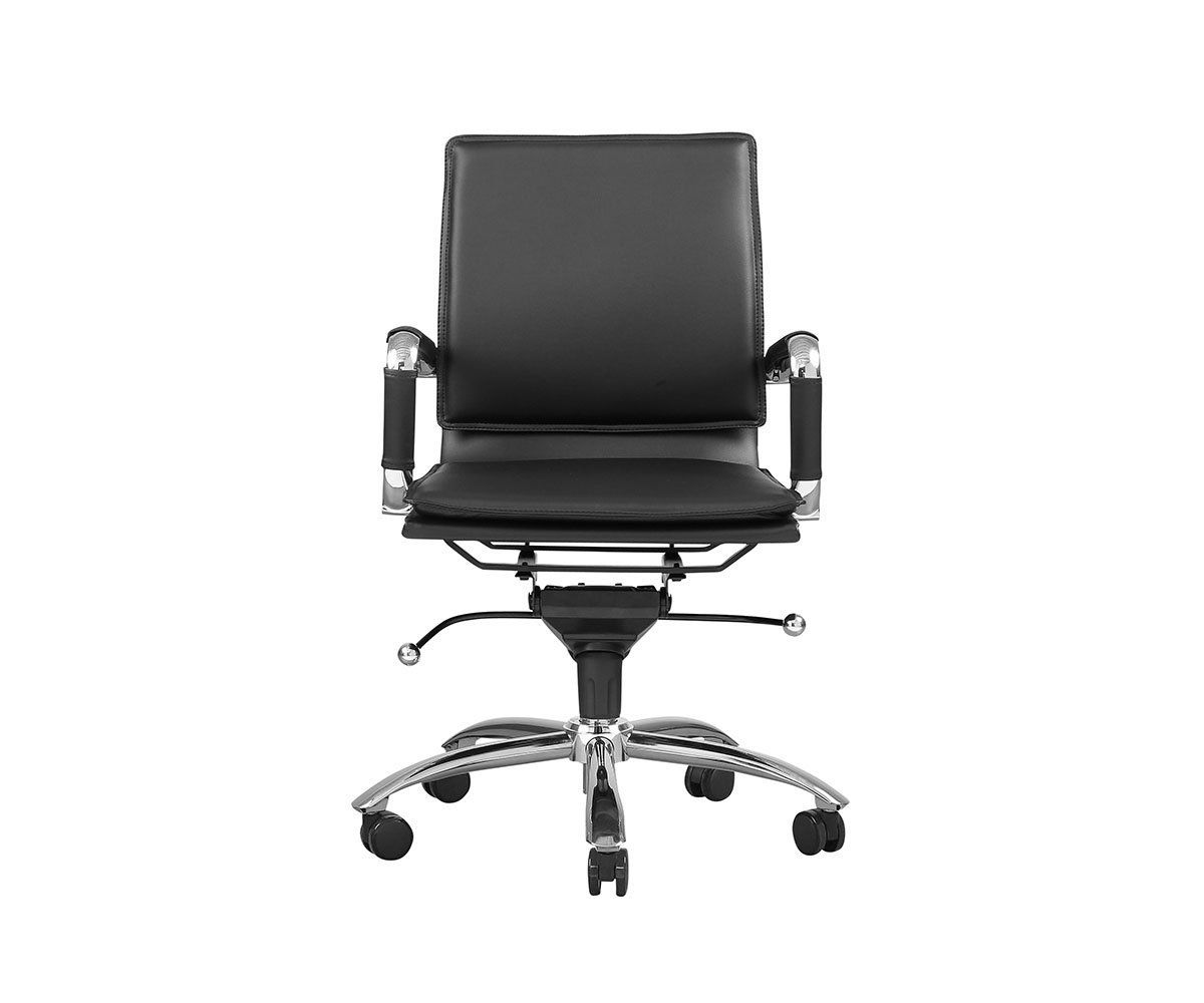 Brock low back office chair adjustable office chair