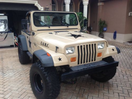 Jeep Wrangler Yj Lifted With 33 S In Great Condition 4 0l V6