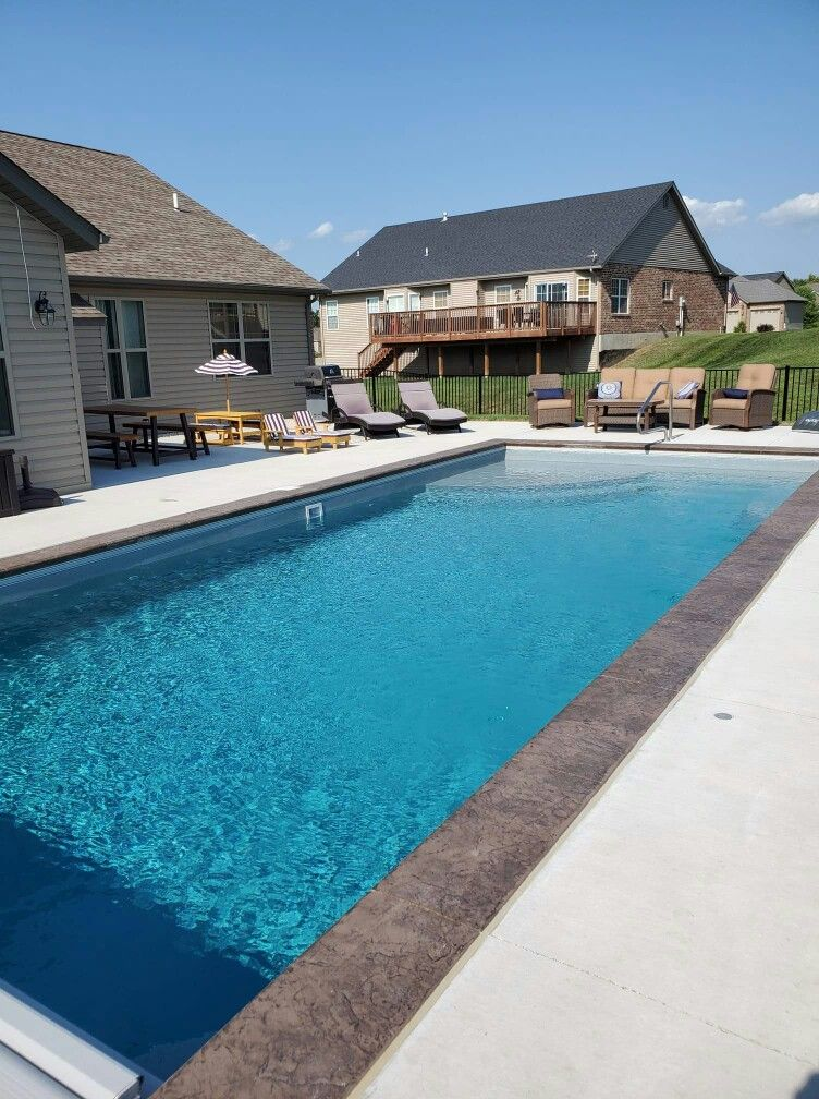Pin By San Juan Pools On Great Lakes By San Juan Fiberglass Inground Pools Beach Entry Pool San Juan Pools Inground Fiberglass Pools