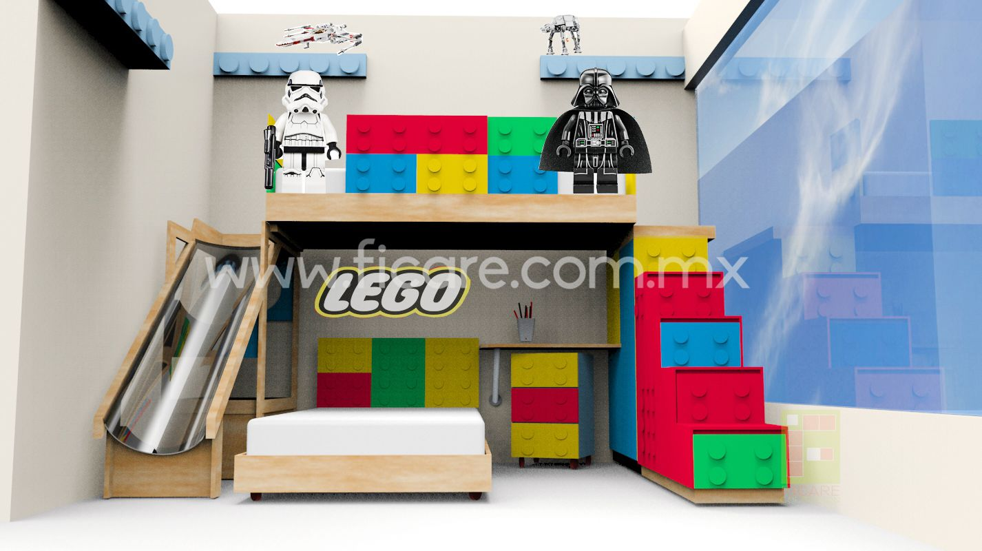 Star Wars/Lego ¡¡Ficare Kids!! | Recamaras Infantiles | Pinterest ...