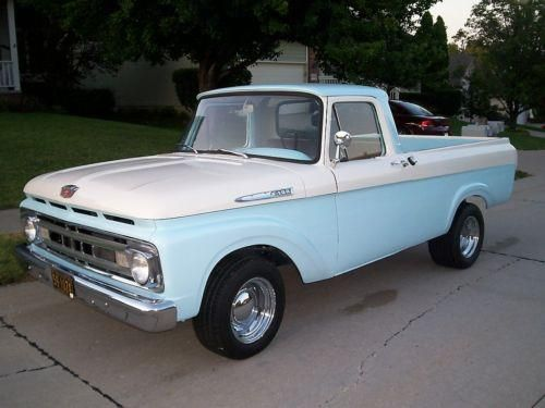 f0de462a8 My baby! 1961 Ford Classic! | Ford F-100 Truck 1961-63 | Pickup ...
