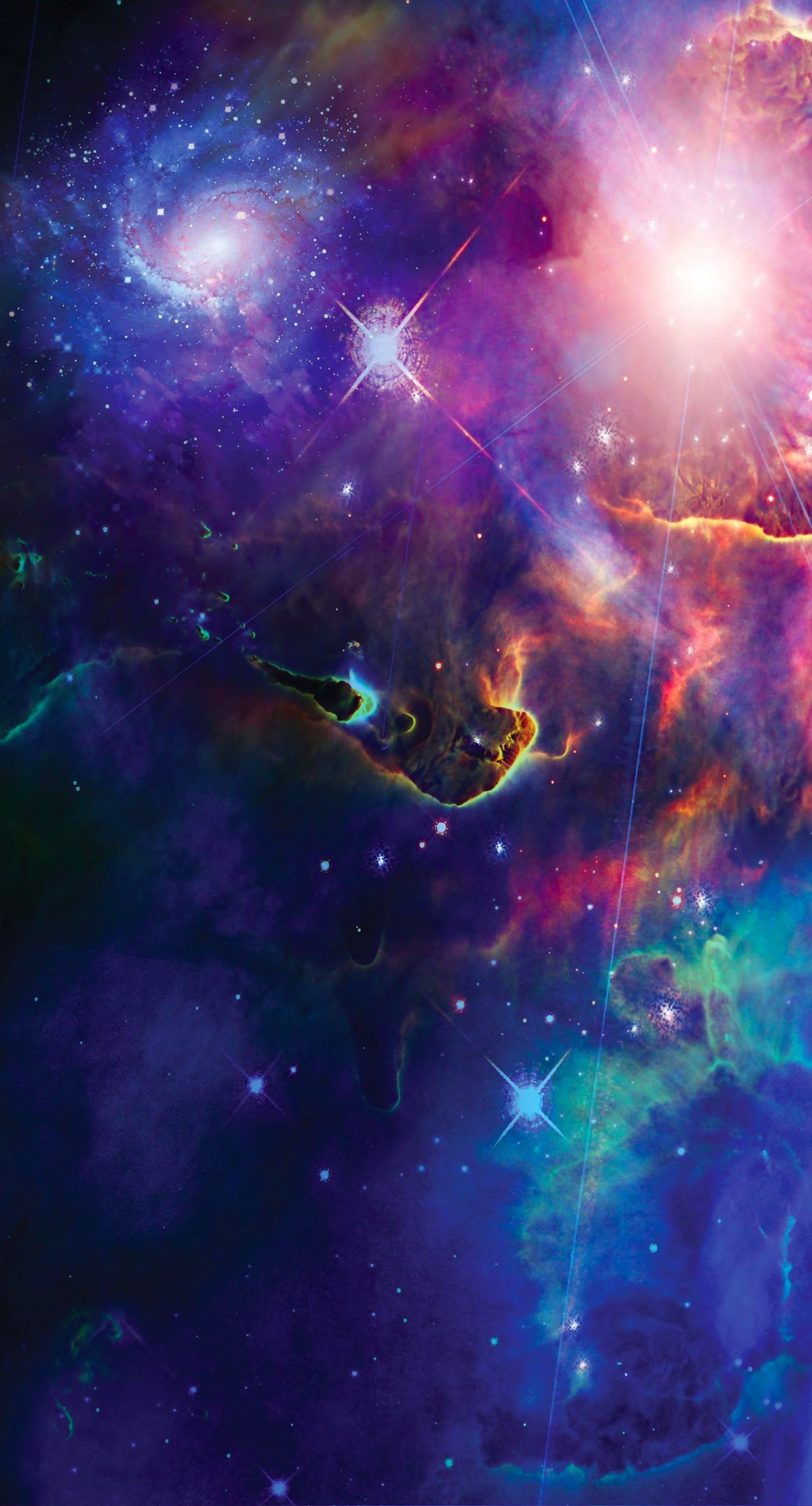 Space galaxy Cool iPhone6s Plus / iPhone6 Plus Wallpaper