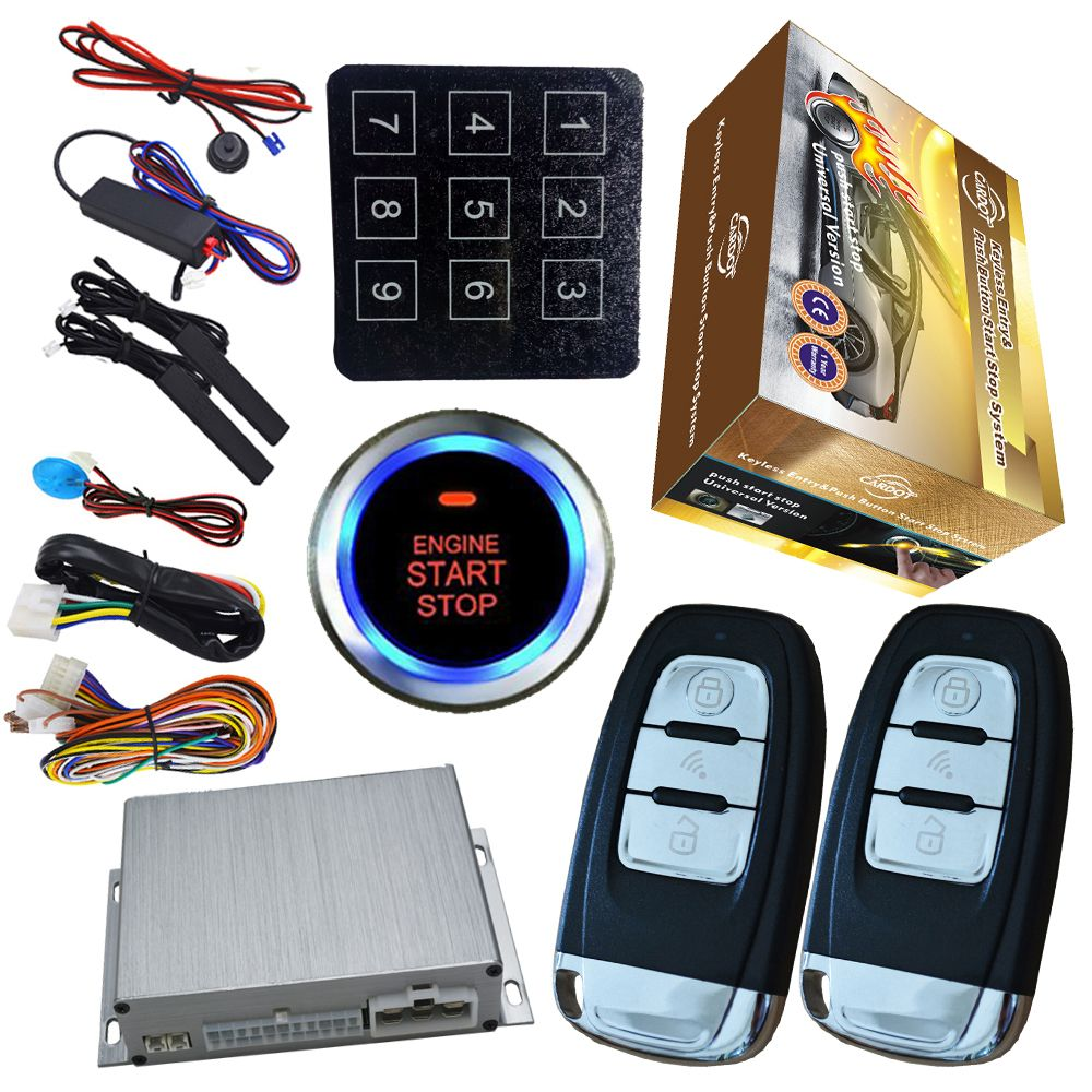smart key engine start stop working with smart phone gps