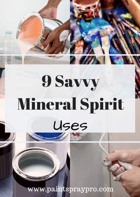 Mineral Spirit Uses | Painting Tips | Using a paint sprayer